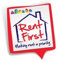 Rent First logo